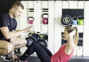 FitMixer - trener personalny, brzuszki, spięcia brzucha